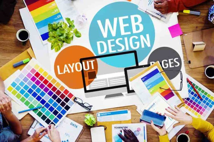 Design de site web