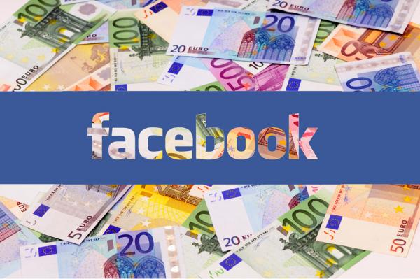 argent sur Facebook