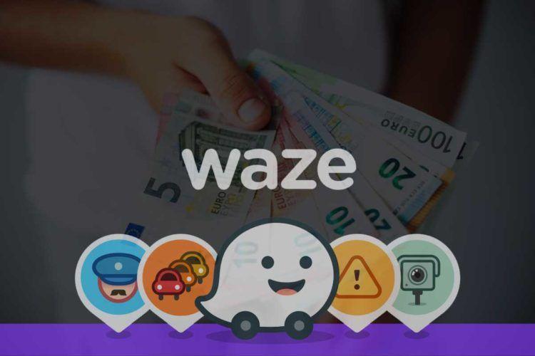 gagner de l'argent avec l'application Waze